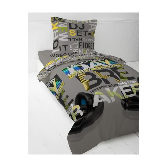 today parure de couette breaker enfant 100 coton 1. Black Bedroom Furniture Sets. Home Design Ideas
