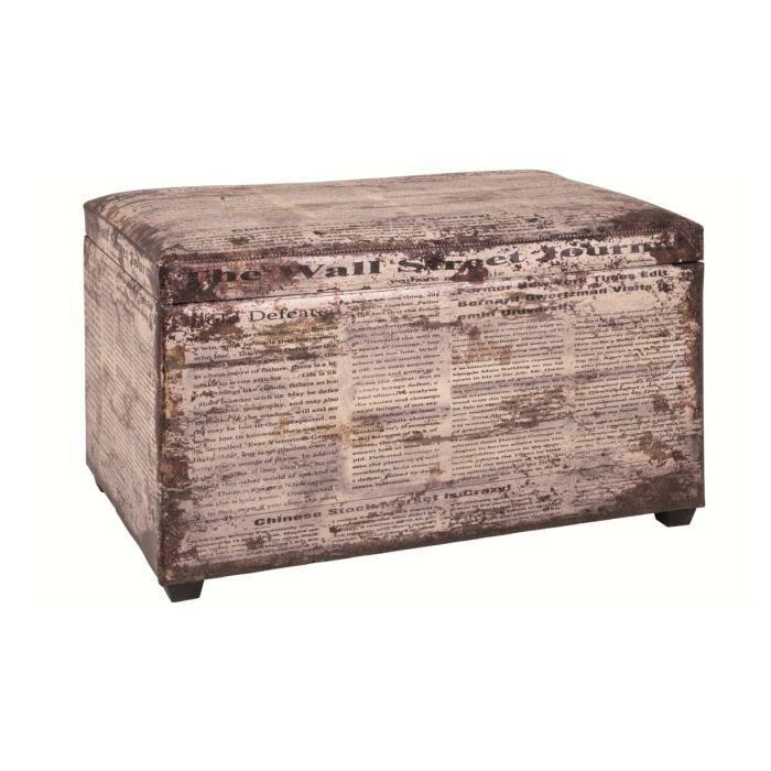 coffre de rangement vintage news achat vente coffre de rangement vintage cdiscount. Black Bedroom Furniture Sets. Home Design Ideas