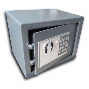WORKMEN SECURITY Coffre-fort électronique ? combinaison 6L 28x18x18 cm