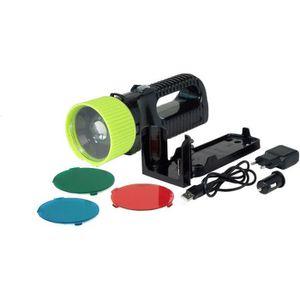 LAMPE DE POCHE Lampe torche AccuLux UniLux PRO noir, vert