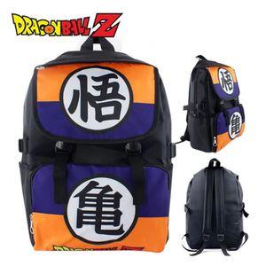 sac dos anime dragon ball z sac de toile sac dos cartabl