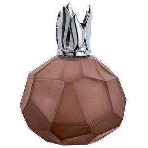Lampe Berger cristal de roche marron glacé.