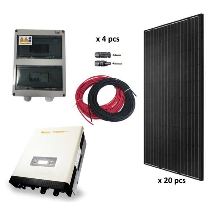 kit solaire autoconsommation 5200w monocristallin omnik 5k tl2 achat vente kit. Black Bedroom Furniture Sets. Home Design Ideas