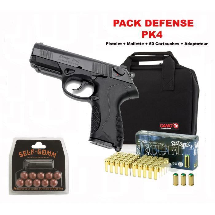 Pack pk4 black kimar arme de d fense cal 9mm p a k prix - Arme pas cher ...