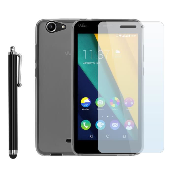 Pack protection wiko pulp fab 4g coque etui housse for Photo ecran wiko pulp