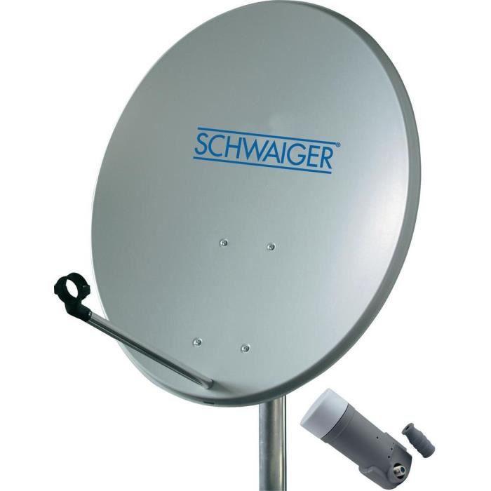 parabole 60 cm schwaiger 1 satellite lnb single parabole avis et prix pas cher cdiscount. Black Bedroom Furniture Sets. Home Design Ideas