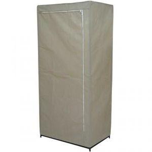 armoire en toile achat vente armoire en toile pas cher cdiscount. Black Bedroom Furniture Sets. Home Design Ideas
