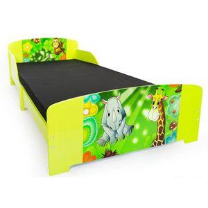 lit enfant jungle achat vente lit enfant jungle pas cher cdiscount. Black Bedroom Furniture Sets. Home Design Ideas
