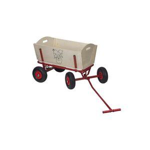 REMORQUE - CHARIOT Chariot en bois - LUTIN PLOP