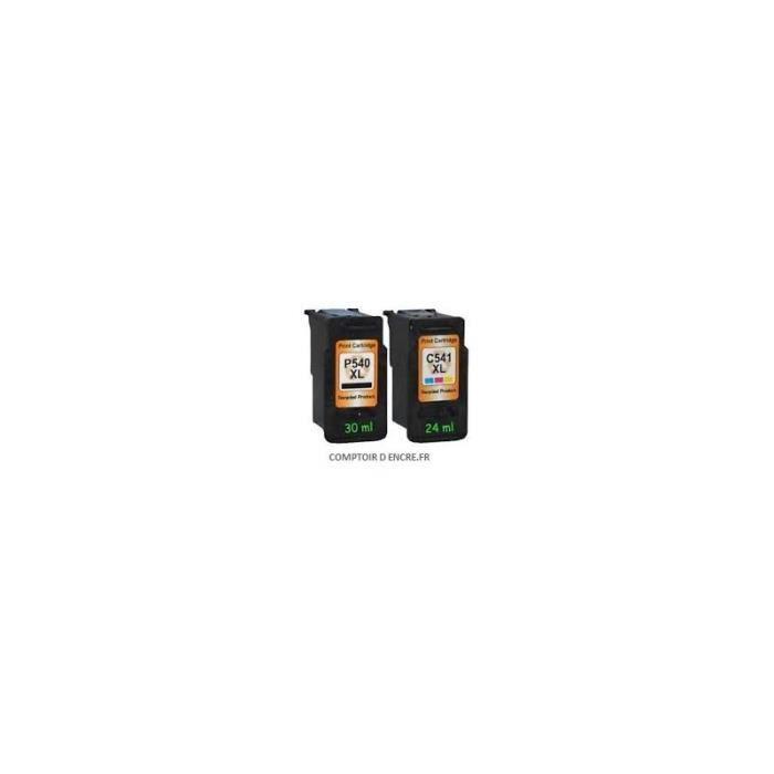 pack 2 cartouches d encre canon compatible pgi 540xl cli 541xl prix pas cher cdiscount. Black Bedroom Furniture Sets. Home Design Ideas