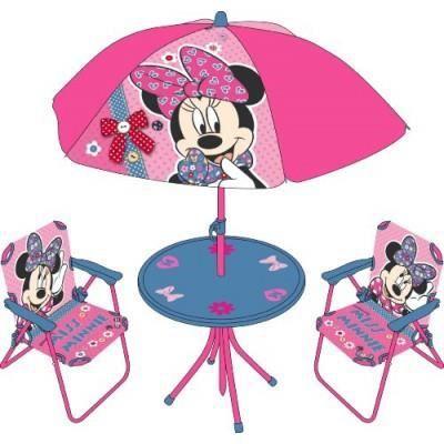 Table et chaise pliante set de camping parasol minnie - Table et chaise minnie ...