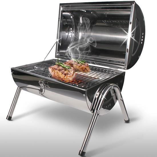 Barbecue portable, pliable acier inox - Achat / Vente pièce ...