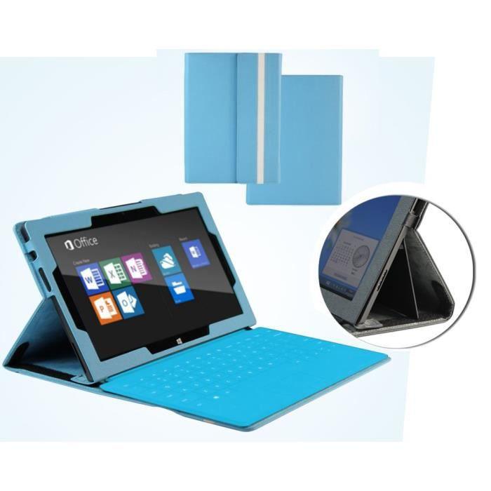 navitech housse pour microsoft surface pro 2 ii bleu prix pas cher cdiscount. Black Bedroom Furniture Sets. Home Design Ideas