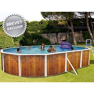 Piscine veta pack t ovale d eac achat vente piscine for Piscine graphite ovale