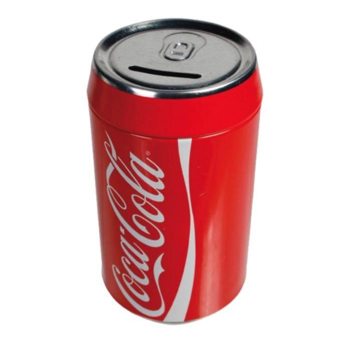 tirelire coca cola canette 16 x 8 cm rouge deco achat vente tirelire cdiscount. Black Bedroom Furniture Sets. Home Design Ideas