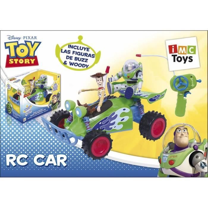toy story voiture r c avec buzz woody tv achat vente voiture cdiscount. Black Bedroom Furniture Sets. Home Design Ideas