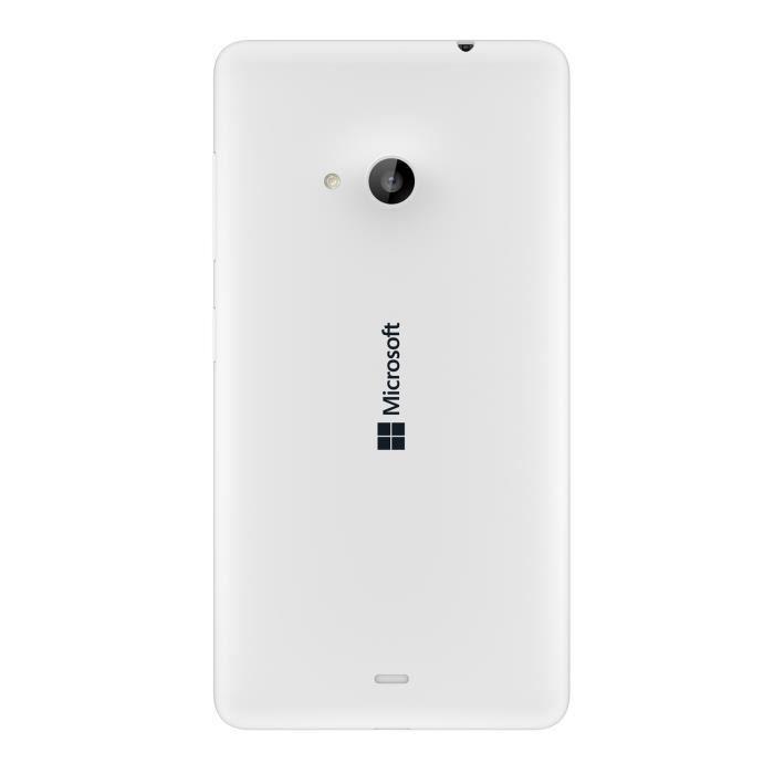 microsoft lumia 535 blanc d bloqu tout op rateur achat smartphone pas cher avis et meilleur. Black Bedroom Furniture Sets. Home Design Ideas