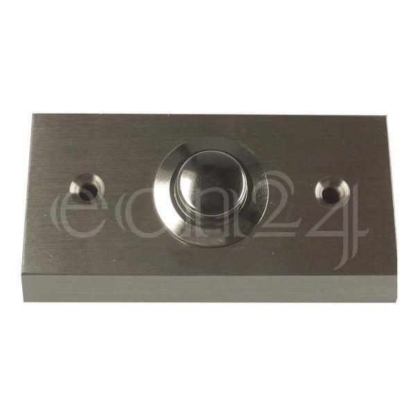 bouton de sonnette en saillie en m tal nickel achat vente sonnette carillon cdiscount. Black Bedroom Furniture Sets. Home Design Ideas