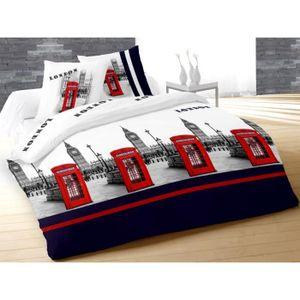 couette london 1 personne achat vente couette london 1 personne pas cher cdiscount. Black Bedroom Furniture Sets. Home Design Ideas