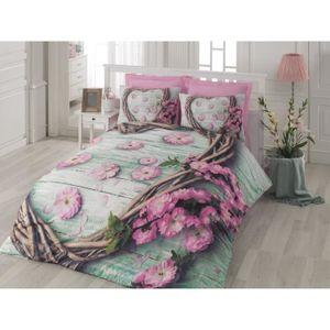 parure de drap 3d achat vente parure de drap 3d pas. Black Bedroom Furniture Sets. Home Design Ideas