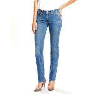 jeans levis femme coupe droite achat vente jeans levis femme coupe droite pas cher cdiscount. Black Bedroom Furniture Sets. Home Design Ideas