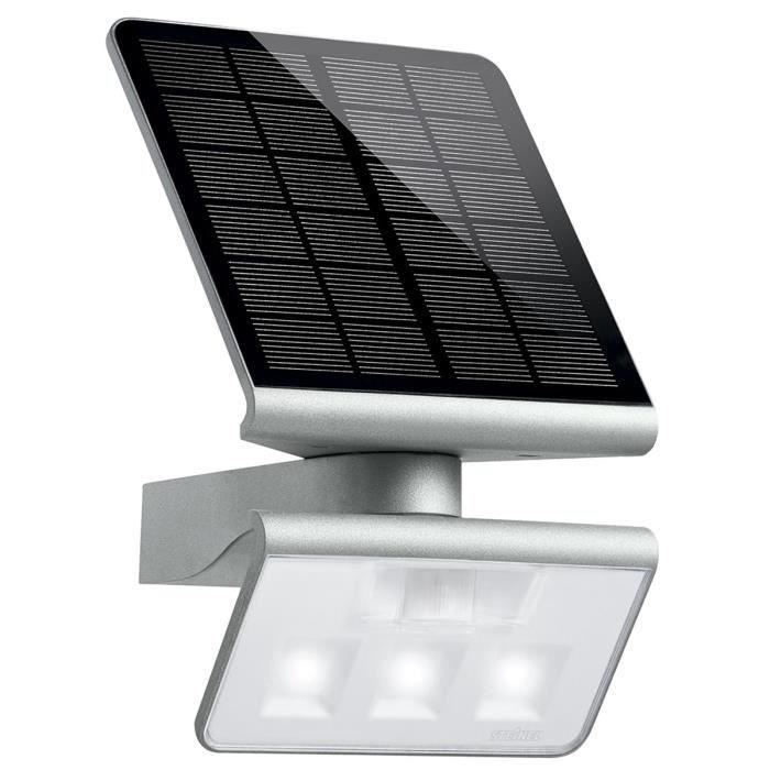 p150 steinel projecteur mural solaire avec detecteur de. Black Bedroom Furniture Sets. Home Design Ideas