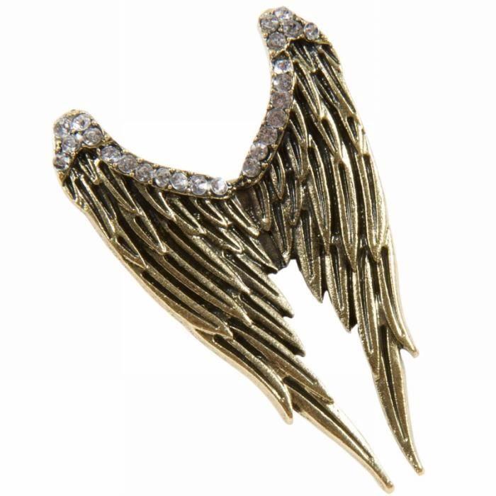 Bague r tro r glable ailes d 39 ange eden achat vente for Tableau aile d ange