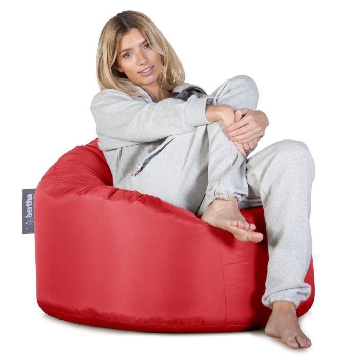 pouf poire rouge achat vente pouf poire cdiscount. Black Bedroom Furniture Sets. Home Design Ideas