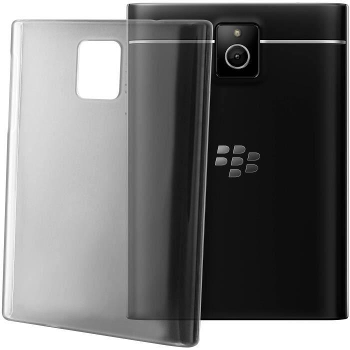 coque protection transparente blackberry passport achat coque bumper pas cher avis et. Black Bedroom Furniture Sets. Home Design Ideas