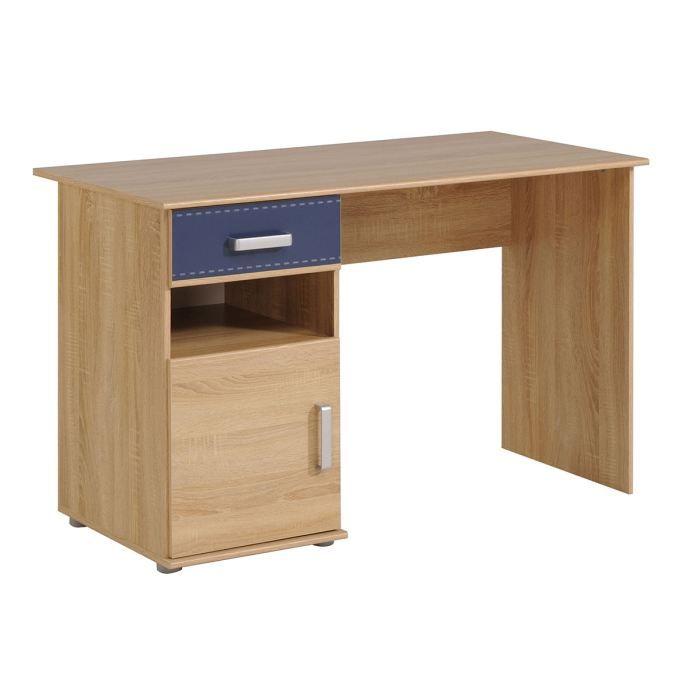 bureau adolescent 1 porte 1 tiroir ch ne clai achat vente bureau bureau adolescent 1. Black Bedroom Furniture Sets. Home Design Ideas