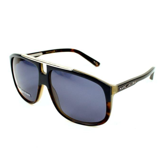 lunettes de soleil marc jacobs mj252 s bleu fon bleu achat vente lunettes de soleil homme. Black Bedroom Furniture Sets. Home Design Ideas