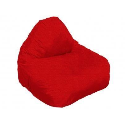 Poire 92x90x75 cm raffy int rieur ext rieur en tissu rouge for Poire exterieur