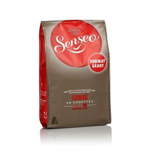 CAFÉ - CHICORÉE SENSEO Dosettes café corsé, 6 x 48
