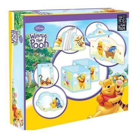 Winnie l 39 ourson coffret decoration chambre winnie achat vente coffret cadeau 3700057115821 - Chambre winnie lourson cdiscount ...