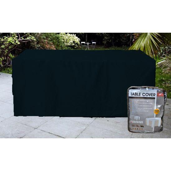 Housse pour table de jardin confort rectangulaire 212cm - Coussin pour mobilier de jardin ...
