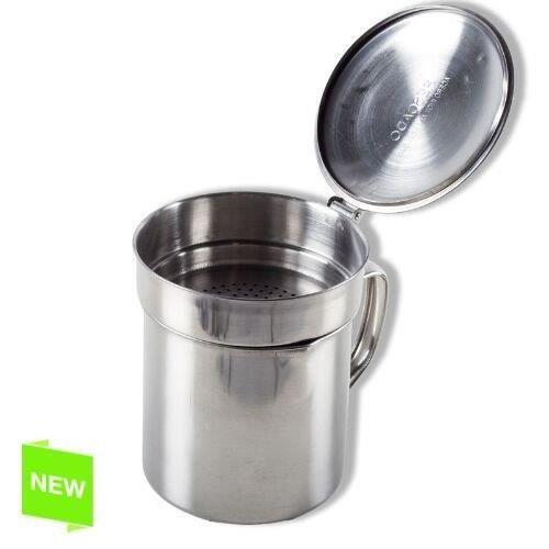 pot huile de friture en inox avec filtre l achat vente pot pices pot huile de. Black Bedroom Furniture Sets. Home Design Ideas