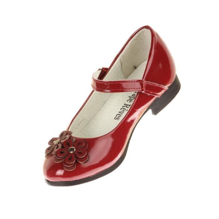 chaussure rouge pour fille. Black Bedroom Furniture Sets. Home Design Ideas