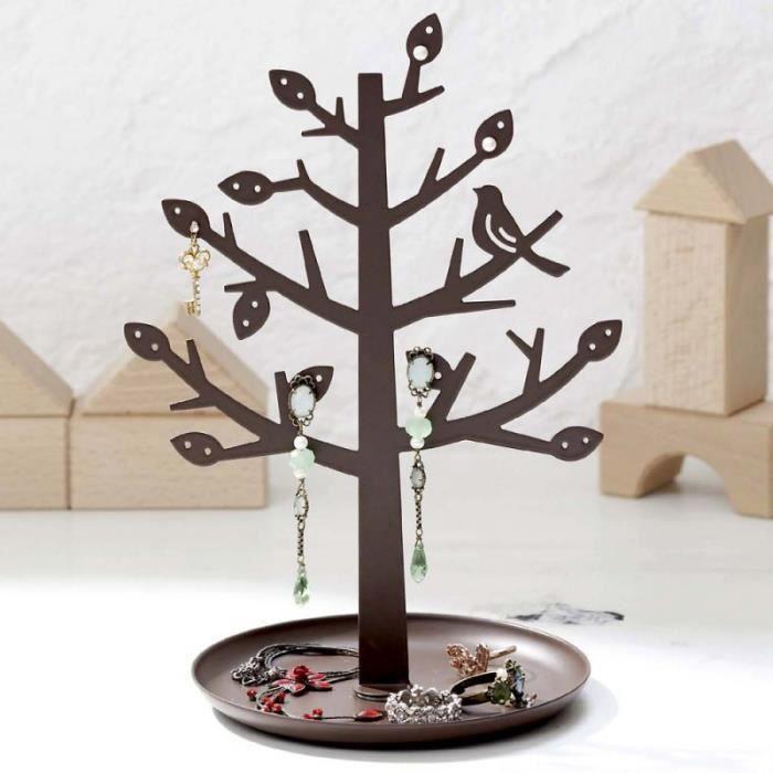 porte bijoux arbre marron achat vente pr sentoir bijoux porte bijoux arbre marron. Black Bedroom Furniture Sets. Home Design Ideas