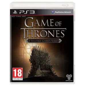 JEU PS3 NOUVEAUTÉ Games Of Thrones Saison 1 Jeu PS3