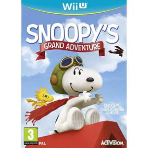 JEUX WII U SNOOPY'S GRAND ADVENTURE (THE PEANUTS MOVIE) (Wii