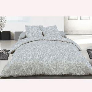 housse de couette avec rabat 260x240 achat vente housse de couette avec rabat 260x240 pas. Black Bedroom Furniture Sets. Home Design Ideas