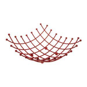 corbeille de fruits rouge achat vente corbeille de fruits rouge pas cher les soldes sur. Black Bedroom Furniture Sets. Home Design Ideas