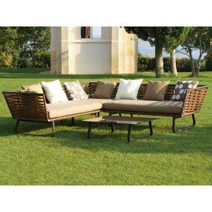 banquette jardin achat vente banquette jardin pas cher soldes cdiscount. Black Bedroom Furniture Sets. Home Design Ideas