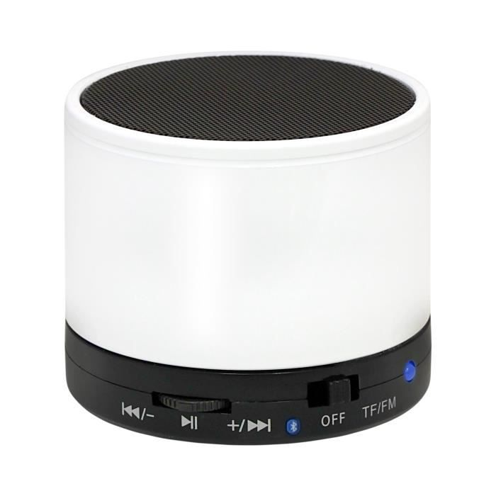 mini enceinte bluetooth blanche moxie mx2 achat amplificateur d 39 appel pas cher avis et. Black Bedroom Furniture Sets. Home Design Ideas