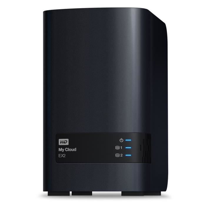 WD My Cloud EX2 8To WD Red inclus WDBVKW0080JCH Achat / Vente