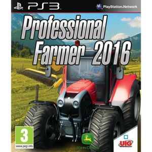 JEU PS3 NOUVEAUTÉ Professional Farmer 2016 Jeu PS3