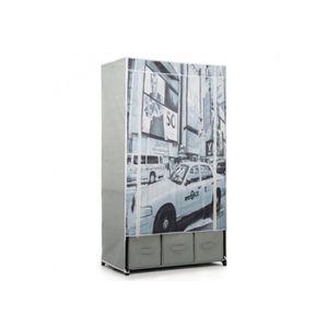 Grande armoire metal achat vente grande armoire metal for Grande armoire chambre