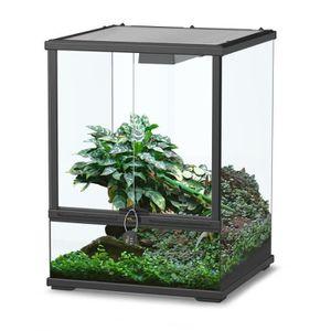 terrarium 45 45 45 achat vente terrarium 45 45 45 pas cher cdiscount. Black Bedroom Furniture Sets. Home Design Ideas