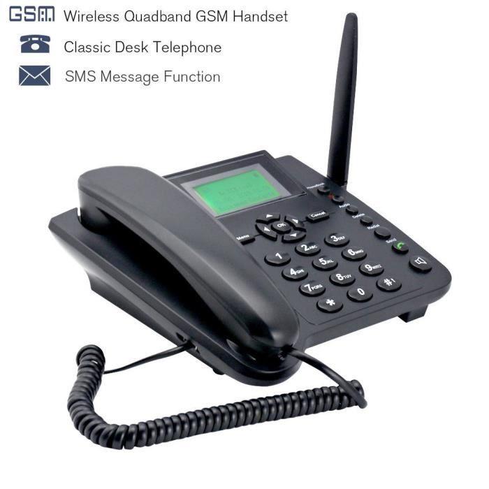 satisfacargo m281 gsm t 233 l 233 phone sans fil home office t 233 l 233 phone de bureau batterie