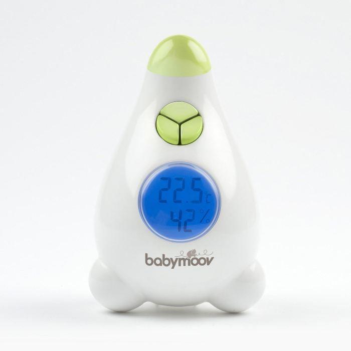 Babymoov Thermom Tre Hygrom Tre Blanc Et Vert Achat
